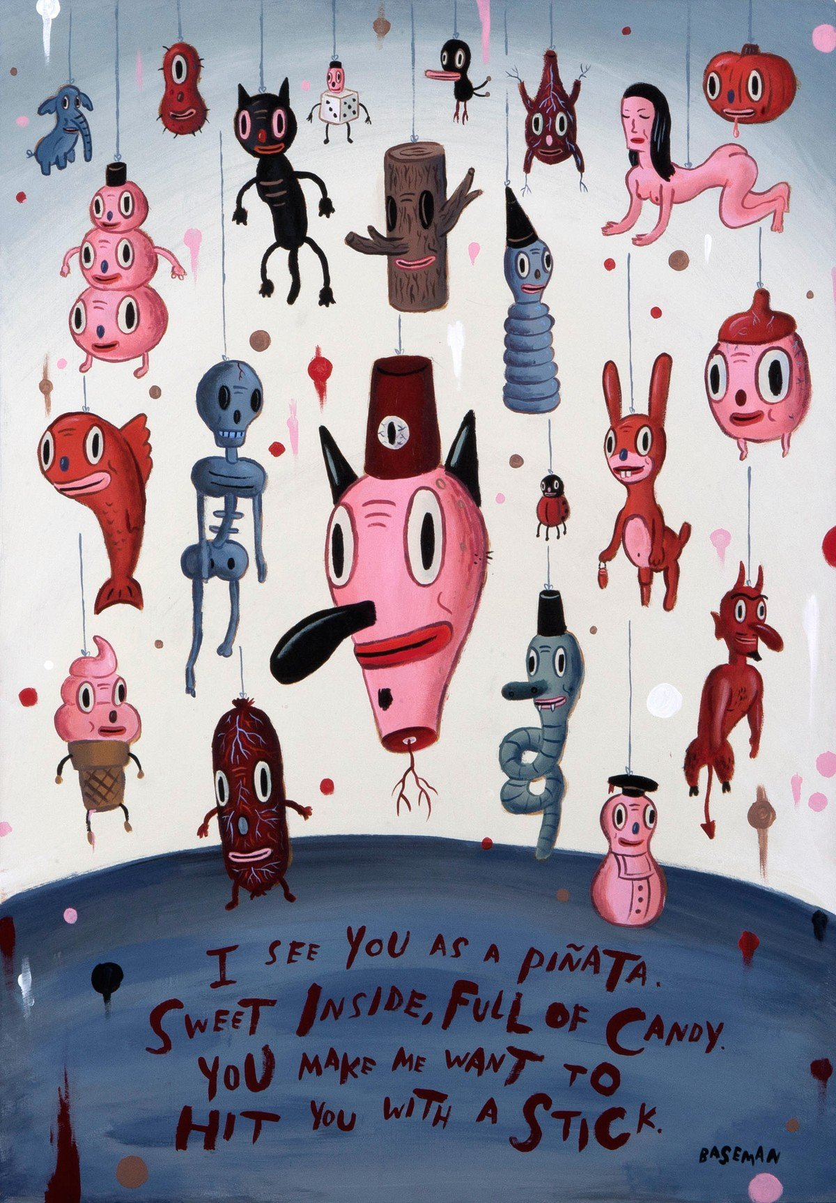 Gary Baseman - I am your Piñata