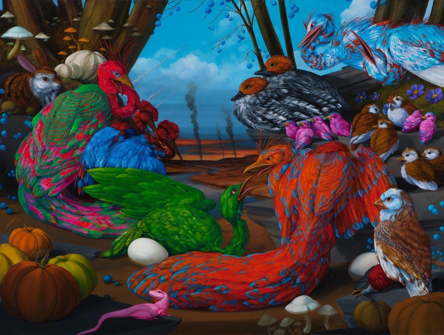 Laurie Hogin - Habitat Diorama