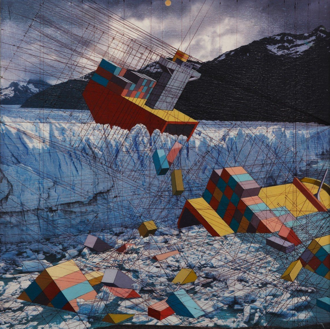 Mary Iverson - Glacier