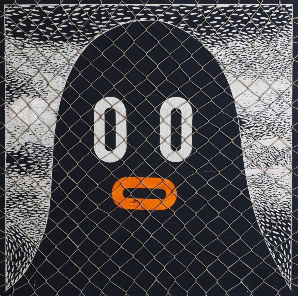 Boris Hoppek - Bimbo behind fence