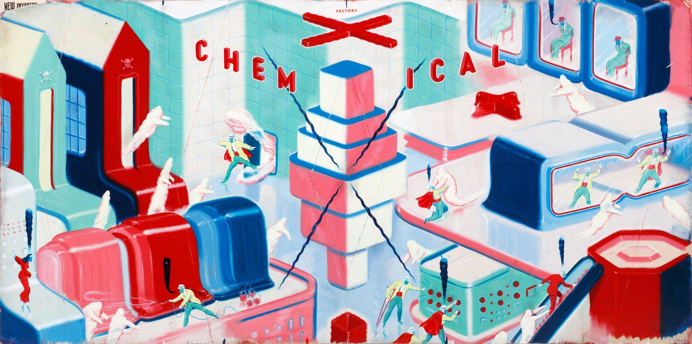 Ryan Heshka - Chemical X Factory