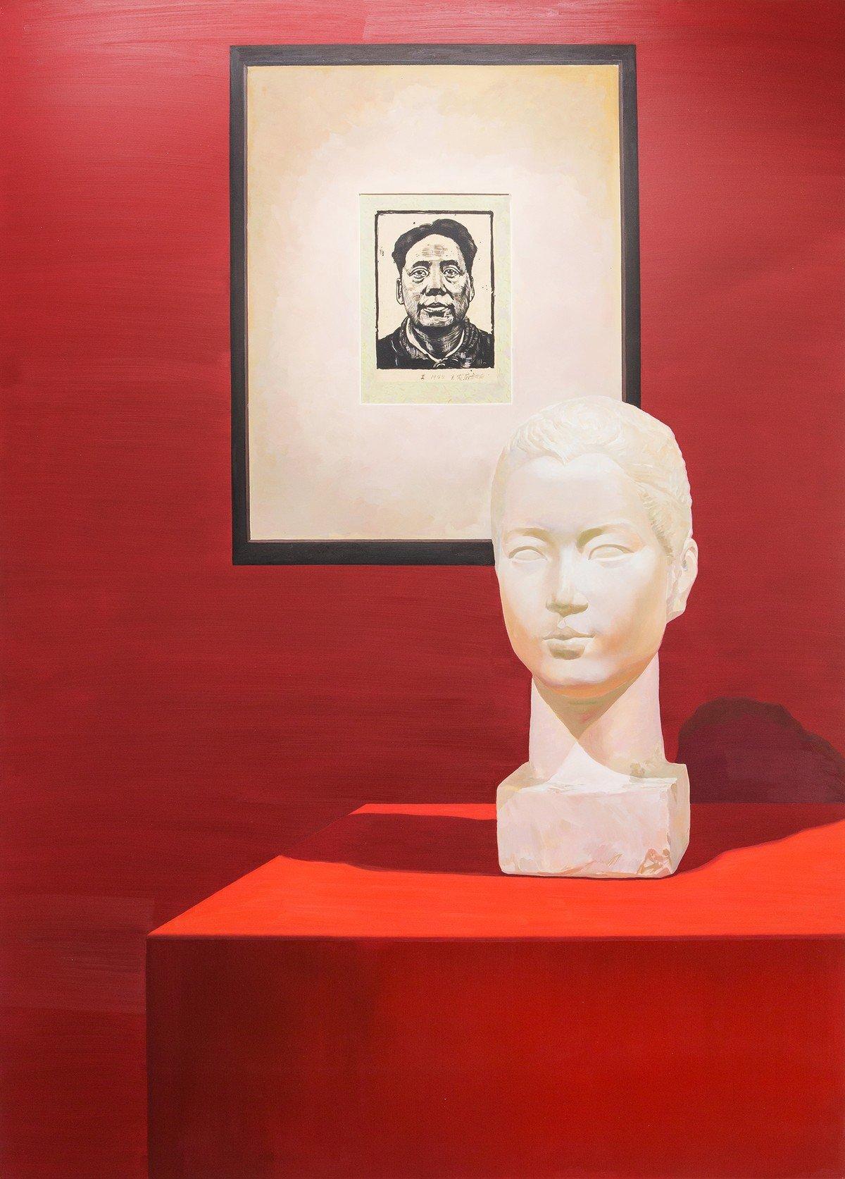 Wang Shikuo in 1942 and Wang Zhaowen in 1951