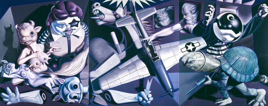 Ron English - Guernica Trilogy