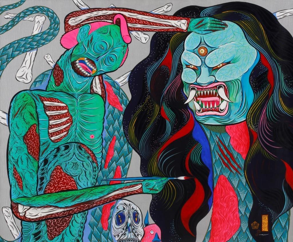 Hideyuki Katsumata - Zombie Painter