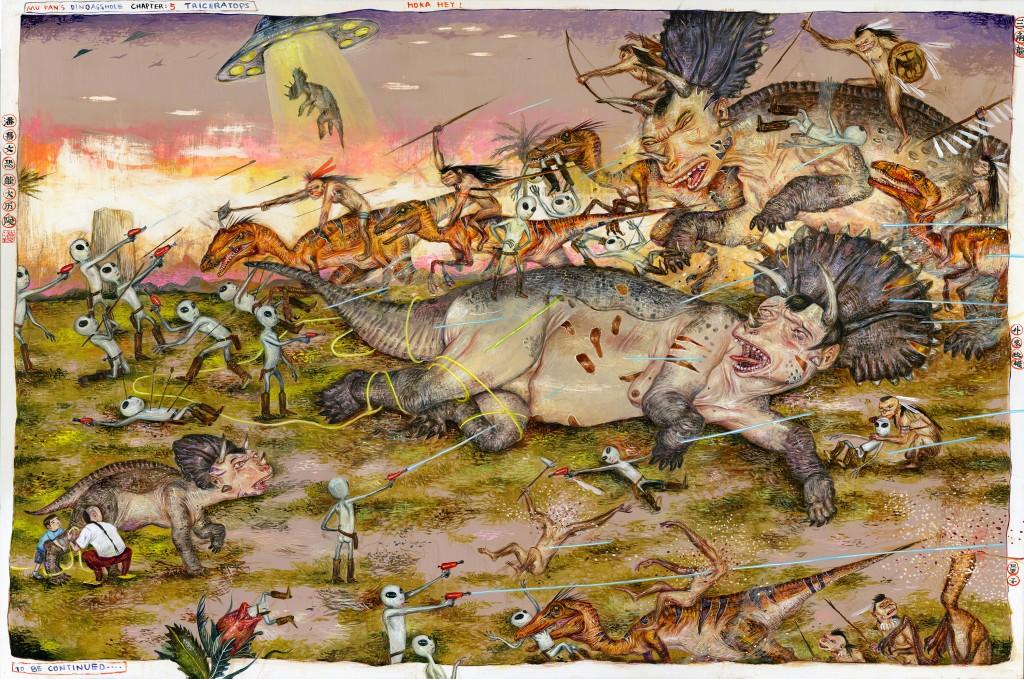 Mu Pan - Triceratops