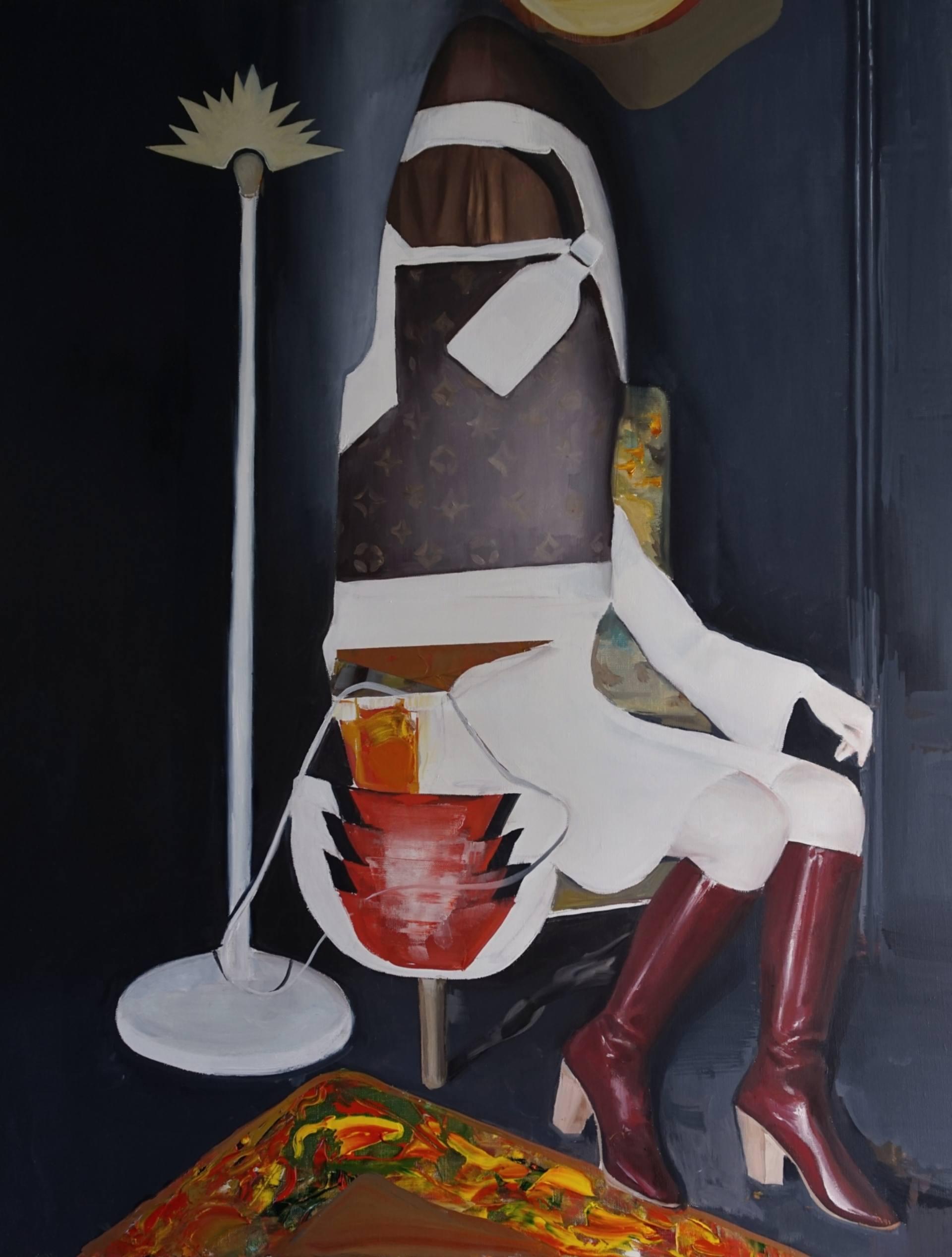 Daniel Maczynski - Girl with a bottle of milk