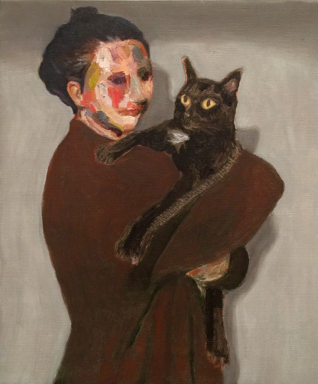 Noe and Her Cat
