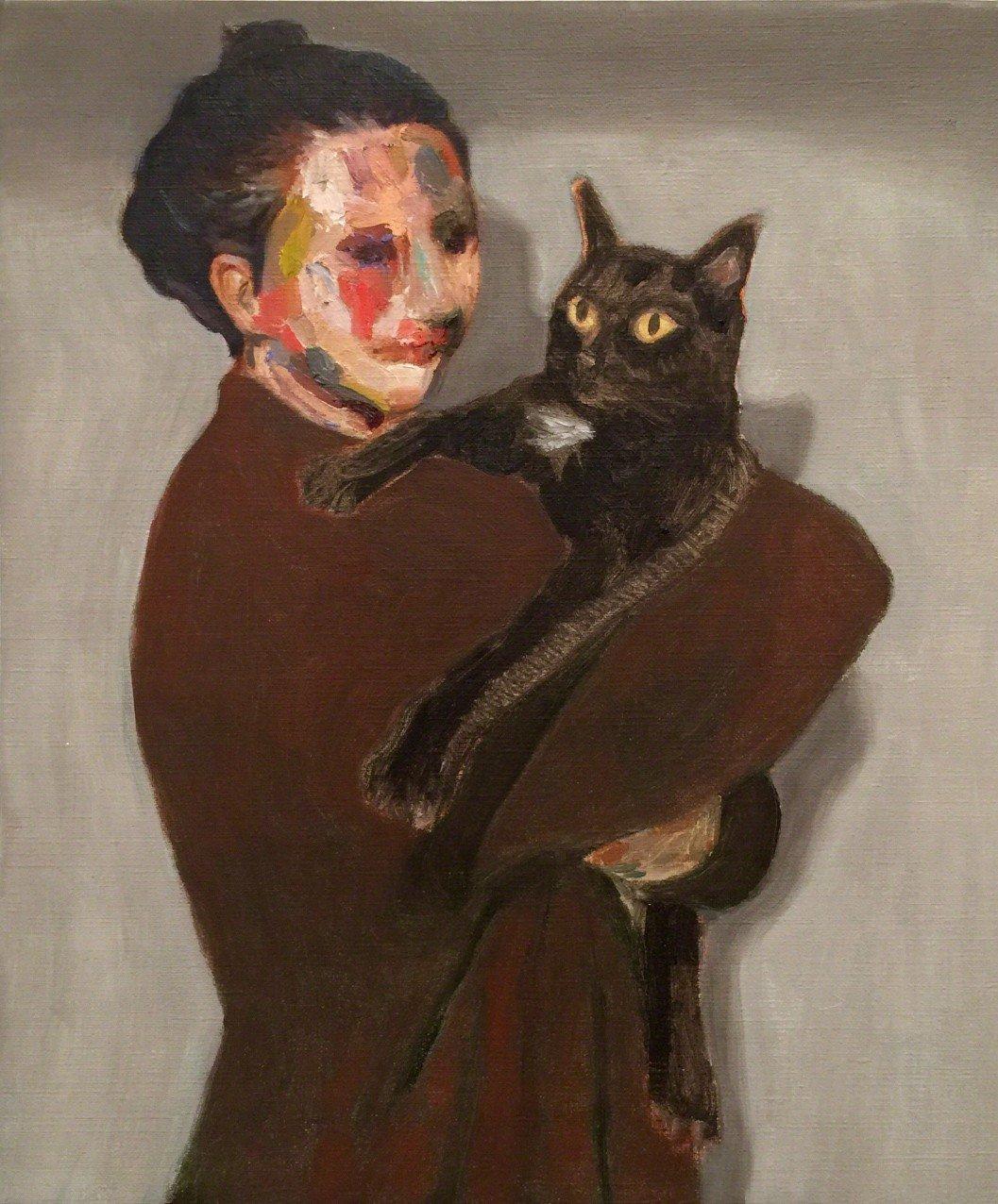 Guim Tio Zarraluki - Noe and her cat