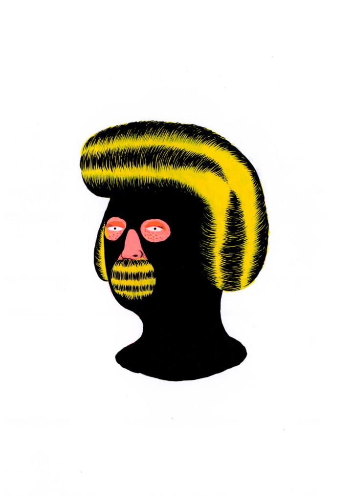 Grip Face - Portrait 3