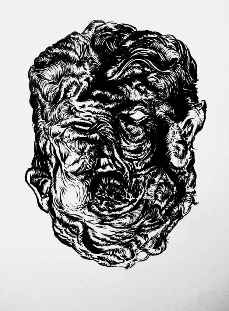 Willehad Eilers - Fleischgesicht 07