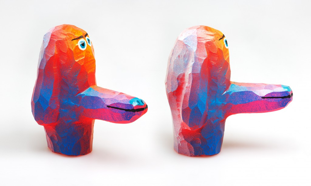 Tim Biskup - Dog Head 2