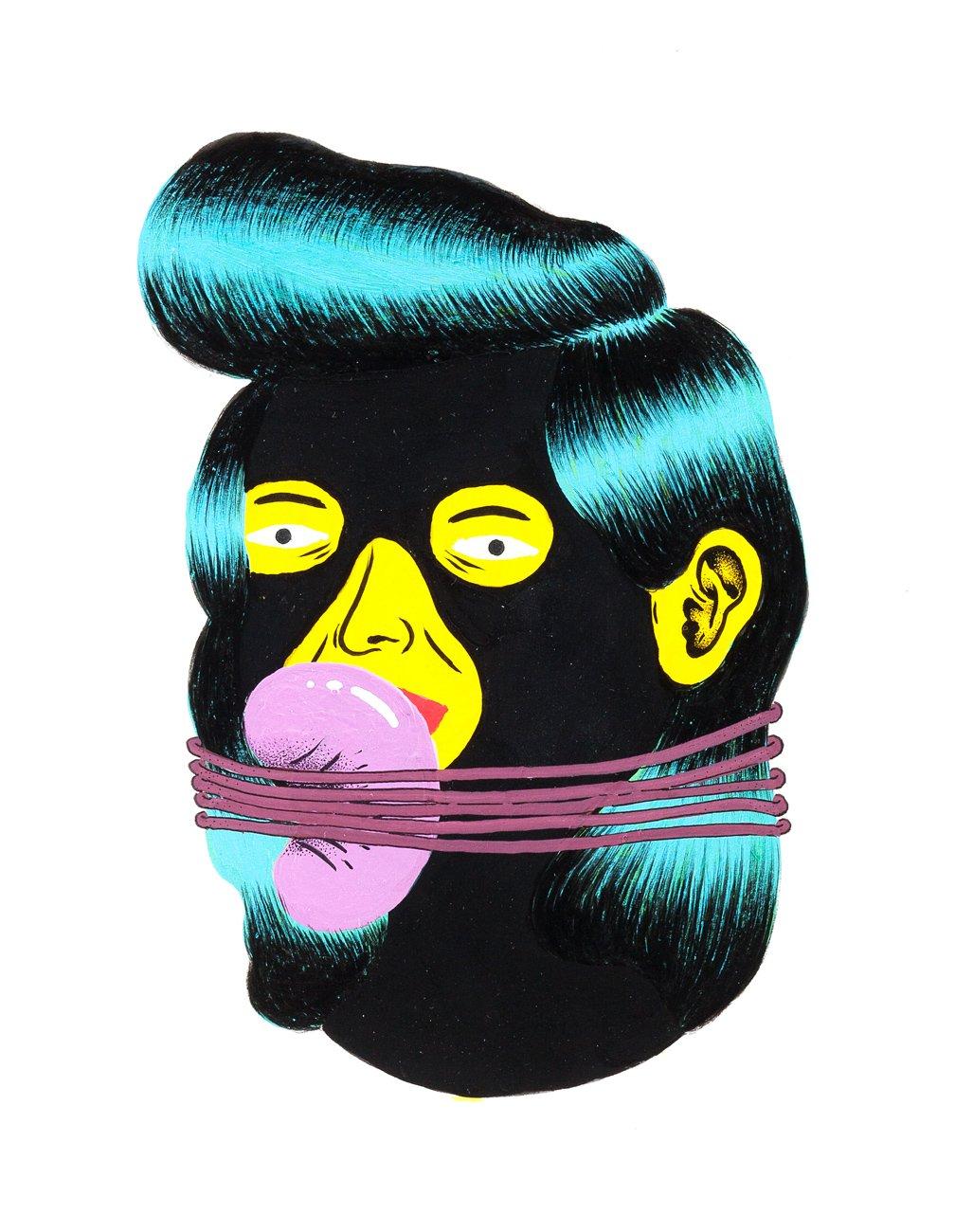 Grip Face - Retrato #12