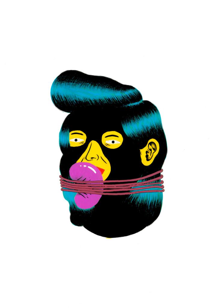 Grip Face - Portrait 12