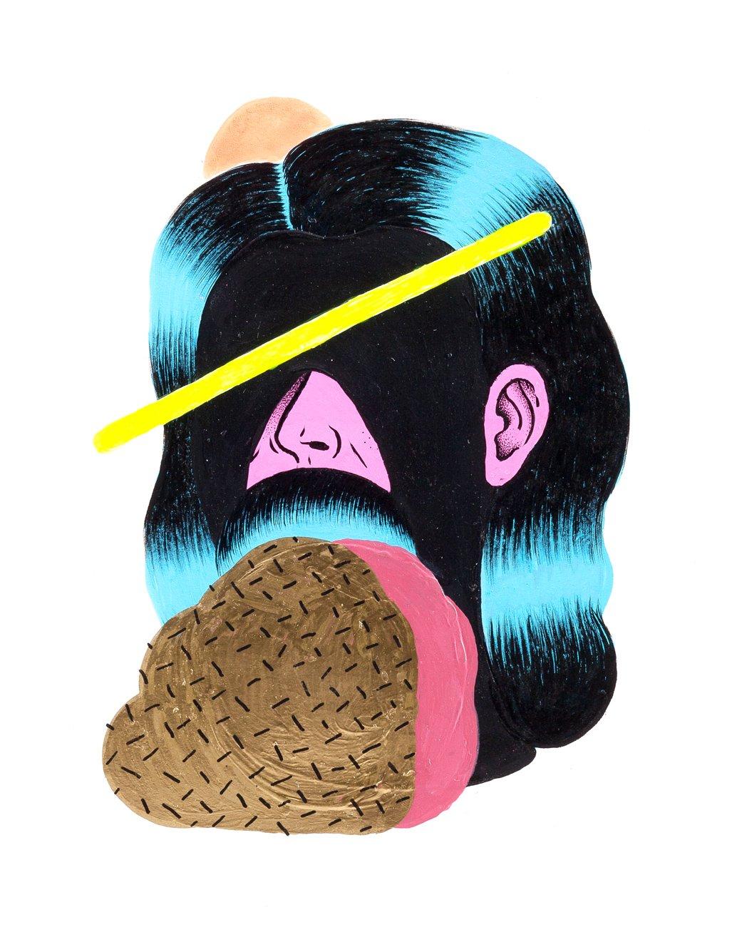 Grip Face - Retrato #15
