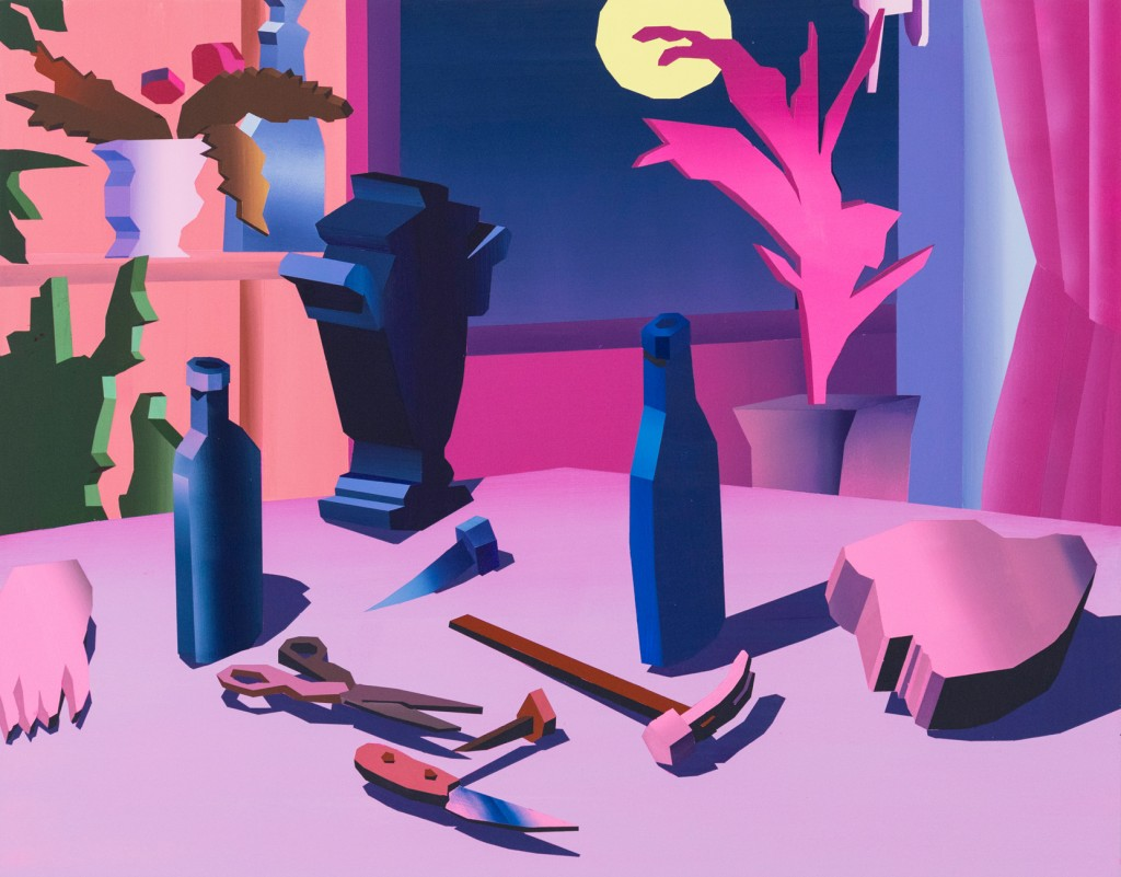 Jonathan Chapline - Constructed Objects on a Flat Plane