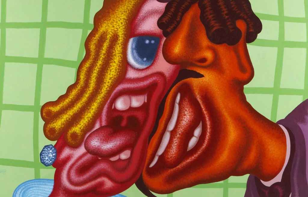 Peter Saul - Duet - Detail
