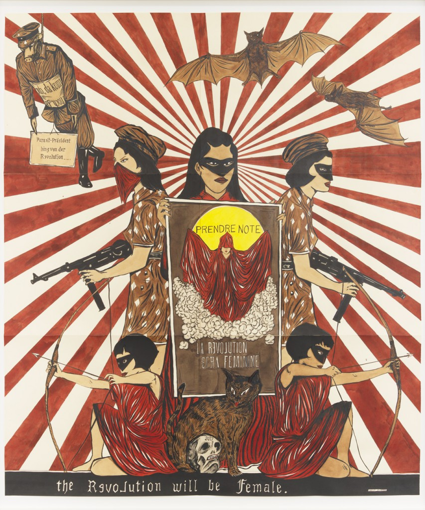 Marcel Dzama - La révolution sera féminine
