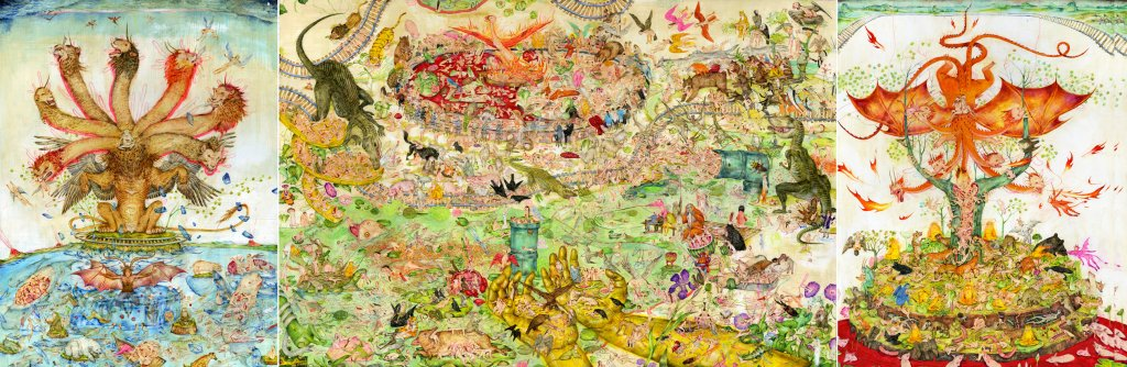 Mu Pan's Garden of Earthly Delights