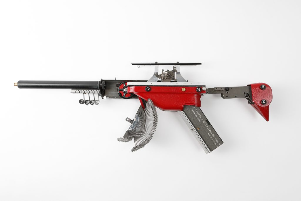 Typewriter Gun Geneva