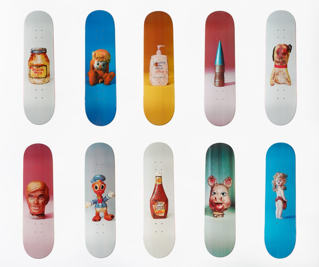 Set of Ten Skateboards